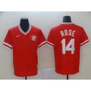 Cincinnati Reds Pete Rose Jersey